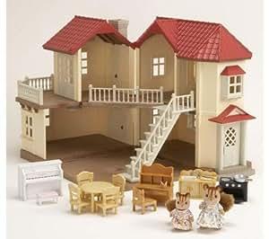 Sylvanian Families - 2756 - Poupée et Mini-Poupée - Coffret Spécial Grande Maison Tradition