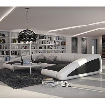innocent ecksofa coral mit armlehnen kunstleder wei. Black Bedroom Furniture Sets. Home Design Ideas