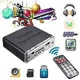 Yongse 12V Mini Auto Motorrad Stereoverstärker Amp LED USB/SD Digital Player MP3 Fernbedienung