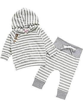 RAISEVERN Unisex Baby Jungen Mädchen Kapuzenpulli Hosen Trainingsanzug Hoodie Outfits Set Halloween Kleidung 0...