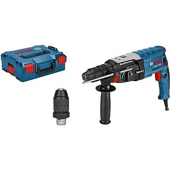 Bosch Professional Perforateur GBH 2-28 F (Mandrin Interchangeable SDS-Plus, L-BOXX, 880 W, Mandrin Automatique: 13 Mm, Ø de Perçage Jusqu'à 28 Mm)
