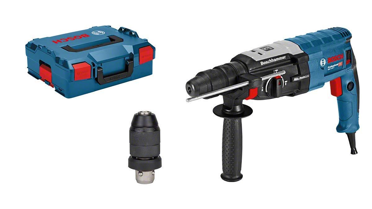 Bosch Professional GBH 2-28 F – Martillo perforador (3,2 J, máx. hormigón 28 mm, portabrocas SDS plus + cilíndrico, en L-BOXX)