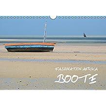 Faszination Afrika: Boote (Wandkalender 2018 DIN A4 quer): Einfach konstruierte Boote aus sieben afrikanischen Ländern (Monatskalender, 14 Seiten ) ... Kiesow, hinter-dem-horizont-media.net
