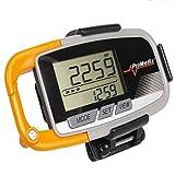 ProMedix PR-315Podomètre multifonction, accéléromètre, affichage de la distance et des calories brûlées, chronomètre, fitness