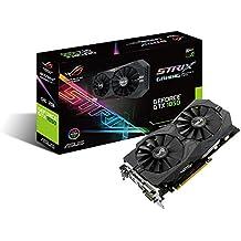 ASUS STRIX-GTX1050-O2G-GAMING - Tarjeta gráfica (NVIDIA, GeForce GTX 1050, 2 GB GDDR5, 7680 x 4320 Pixeles, GDDR5, PCI Express 3.0) color negro