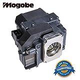 #10: Mogobe ELPLP58 V13H010L58 Projector Lamp Bulbfor EPSON EX3200 EX5200 EX7200 EPSON PowerLite 1220 1260 S9 X9 S10 EPSON VS200 EPSON EB-S10 S9 S92 W10 W9 X10 X9 X92. EPSON H367A H368A H369A H375A H391A