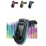 realmax® Auto Musik FM Transmitter universell kompatibel mit allen Marke Mobiles MP3-Player Tablets und alle KFZ Modelle