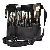 Hotrose Kosmetik Pinseltasche PU Leder Makeup Tasche 24 cm (L) * 25,5 cm (H)