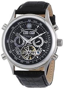 Reloj Constantin Durmont Lafitte de caballero automático con correa de piel negra - sumergible a 30 metros de Constantin Durmont