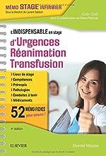 L'indispensable en stage d'Urgences-Réanimation-Transfusion d'Aurès Chaïb