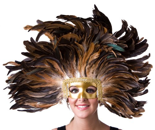 Zucker Feather Coque Headdress Wall Decor Accent by Zucker Feather Products -