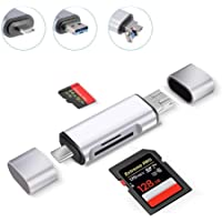 Farraige® USB 3.0 All in one Card Reader SD/Micro SD Card Reader Type c Mobile Phone OTG high Speed Card Reader - 1 Year Warranty