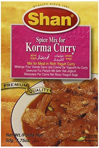 Preisvergleich Produktbild Shan Korma Mix, 1er Pack (1 x 50 g)