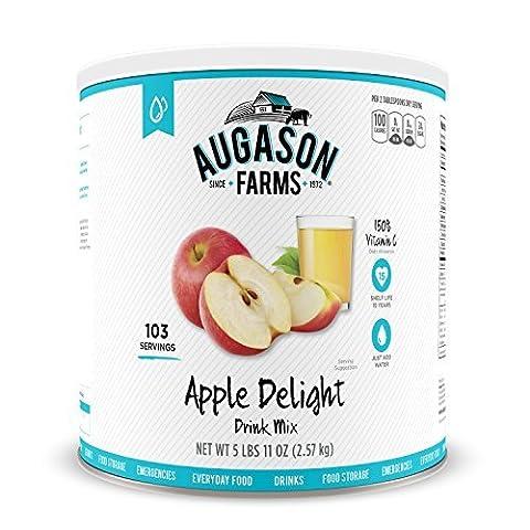 Augason Farms Apple Delight Drink Mix #10 Can, 91 oz by Augason Farms