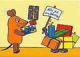 Die Maus POSTkarte Geburtstag Geschenke