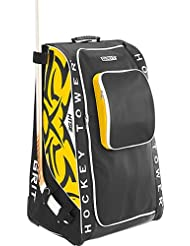 Grit htse Hockey Tower Wheeled Equipment Bag-33en, color Boston, tamaño Junior