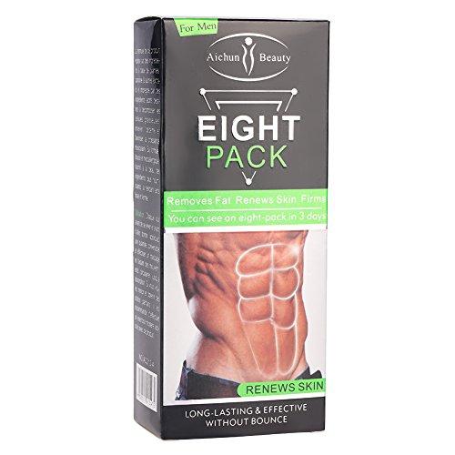Crema caliente - quema de grasa y aprieta los músculos, crema adelgazante unisex, cremas antiarrugas del vientre muscular