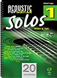 Acoustic Pop Guitar Solos 1 - Noten & TAB - easy/medium