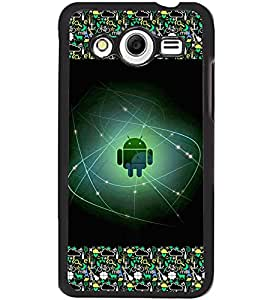 Fuson 2D Printed Android Designer back case cover for Samsung Galaxy Core 2 - D4173