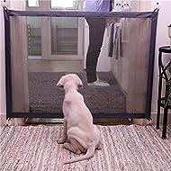 Keptfeet New Magic Gate Portable Folding Safety Guard,pets Isolated Fences Gauze,Install Anywhere