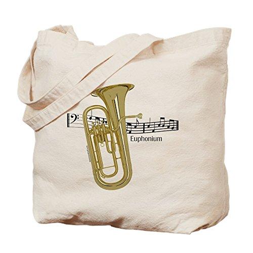 CafePress–EUPHONIUM Musik–Leinwand Natur Tasche, Reinigungstuch Einkaufstasche