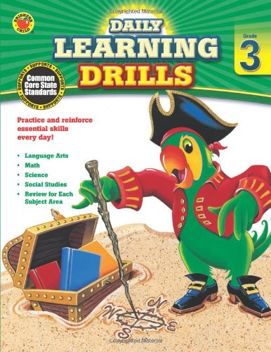 Daily Learning Drills, Grade 3 (Brighter Child: Daily Learning Drills)