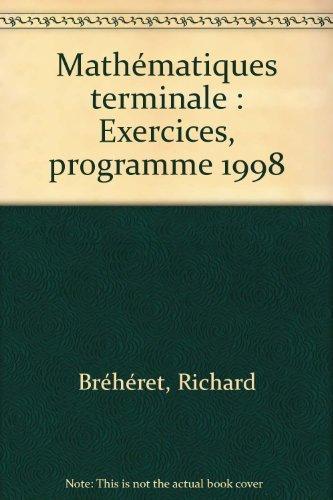 Mathématiques - Terminale ES, carnet d'exercices
