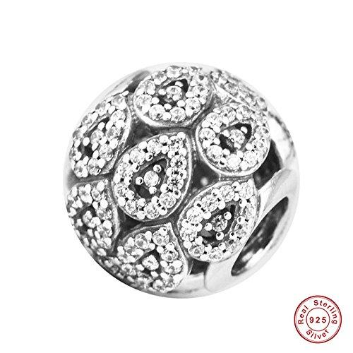 MOCCI 2017 Herbst Kaskadierung Glamour klar cz perlen DIY passend für original Pandora armbänder Charme Machen schmuck