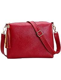 Kinder Mädchen Pu Nette Messenger Tasche Umhängetasche Mädchen Mini Einfarbig Reißverschluss Schnalle Kleine Quadratische Tasche Handtasche # W Kinder- & Babytaschen