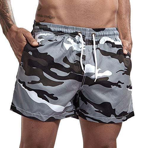 zx-shop Herren Shorts Startseite Hosen Camouflage Gedruckte Strand Shorts und Hosen Badehose Hosen Movement Shorts