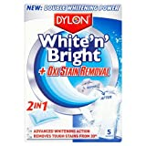 Dylon 2-in-1 White-n-Bright Oxi Stain Removal, 5 Sachets