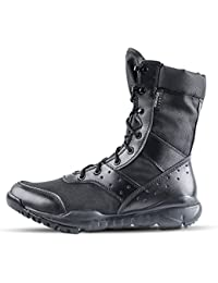 Hombres LD Botas de desierto, Botas de encaje ligero Botas militares de tactica para hombre al aire libre