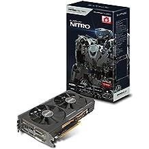 Sapphire 11242-07-20G AMD Radeon R9 380 Nitro Grafikkarte (2x PCI-e, 4GB GDDR5 Speicher, DVI, HDMI, DisplayPort)