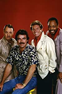 MAGNUM, P.I. TOM SELLECK JOHN HILLERMAN 24X36 PHOTO POSTER PRINT