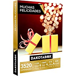 DAKOTABOX - Caja Regalo - MUCHAS FELICIDADES - 3520 Experiencias únicas