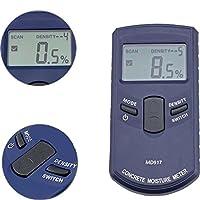 Digital Moisture Meter Digital Concreter Wall Moisture Meter MD917 0-40% Metope Humidity Tester Drywall Damp Tester Digital Meter