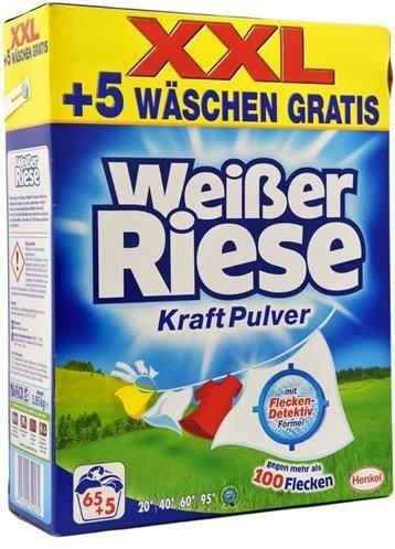 Vollwaschmittel Weisser Riese Kraft Pulver 70WL mit Flecken-Detektiv-Formel