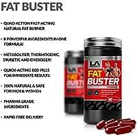 LA Muscle Fat Buster: Amazing Quad-azione naturale e 100% sicuro Fat Burner e integrare la perdita di peso per gli uomini e le donne. Ultra Intervento rapido Rapid Absorbing funziona meglio Poi Garcinia Cambogia. Speciale Amazon Prezzo Acquista adesso prima che i prezzi risalire !!!
