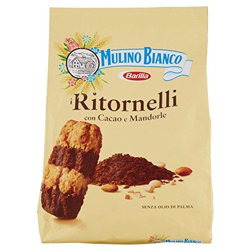 Mulino bianco biscotti ritornelli con cacao e mandorle, 700 gr
