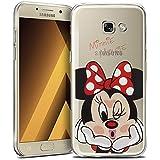 "Samsung Galaxy A5 (2017) 5.2"" A520F Étui HCN PHONE® Coque silicone TPU Transparente Ultra-Fine Dessin animé jolie pour Samsung Galaxy A5 (2017) 5.2"" A520F - Minnie Mouse"