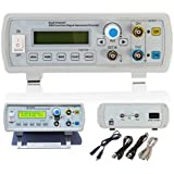 kuman FY2202SP 2MHz Dual Channel DDS Function Signal Generator Sine Square Wave Sweep Counter,four pulse square columns