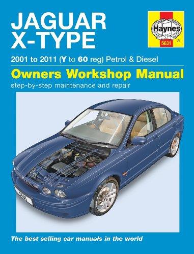 Jaguar X-Type 2.02.53.0V6SE Sport Classic & 2.0D 2.2D 2001-2011Haynes Handbuch - Amp Handbuch