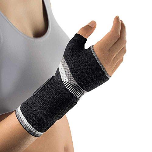 Bort ManuBasic® Plus Handgelenk Bandage Hand Gelenk Stütze Daumen Stabiliserung, Links, XL