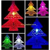 Los árboles de navidad luces de modelado de batería de luces LED luces intermitentes luces Lights Festival el día de año nuevo de luces decoración de boda,4 m, blanco