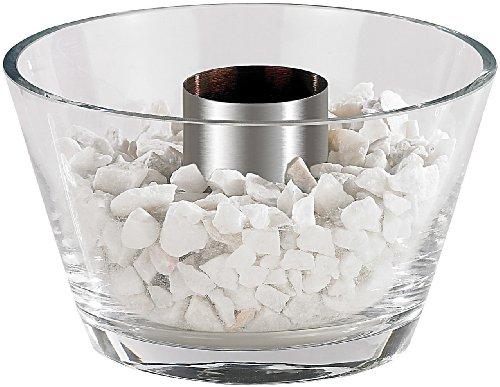 *Carlo Milano Bioethanol Tischfeuer: Glas-Feuerschale*