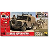 Airfix A50121 Operation Herrick British Forces - Landrover Patrol 1:48 Scale Diorama Gift Set