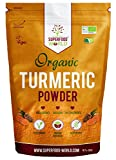 Organic Turmeric Powder | Pure and Potent Anti Inflammatory and Antioxidant Turmeric Powder Superfood with Natural Curcumin | Perfect for Cooking, Smoothies & Golden Milk | Vegan Friendly 300g
