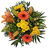 Frischer Blumenstrauß, Frische Blumensendung,