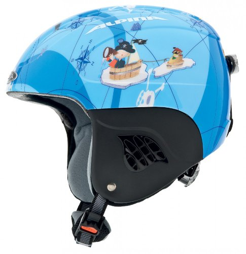 ALPINA CARAT FLASH Jungen-Skihelm (Pirat) - 51-55
