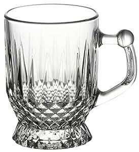 Pasabahce Istanbul Tea Mug Set, Set of 6, Transparent (55871)